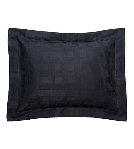 RALPH LAUREN HOME Glen Plaid sham pillowcase (Navy
