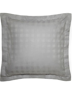 RALPH LAUREN HOME Glen Plaid cotton-sateen pillowcase