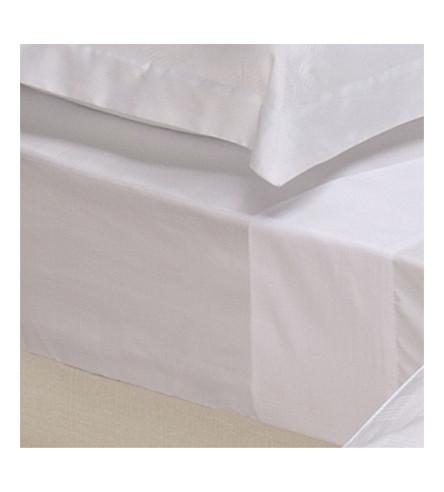 RALPH LAUREN HOME Glen Plaid fitted sheet (White