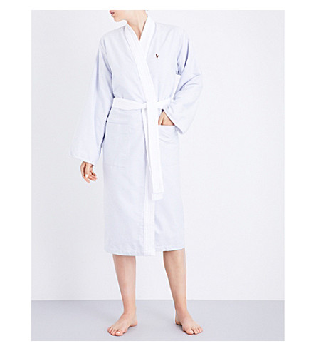 RALPH LAUREN HOME Oxford cotton robe