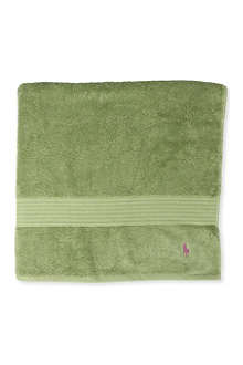 RALPH LAUREN HOME Player hand towel avocado