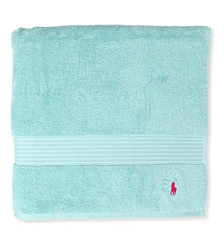 RALPH LAUREN HOME Player bath towel aqua (Aqua