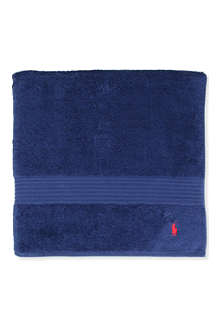 RALPH LAUREN HOME Player guest towel marine