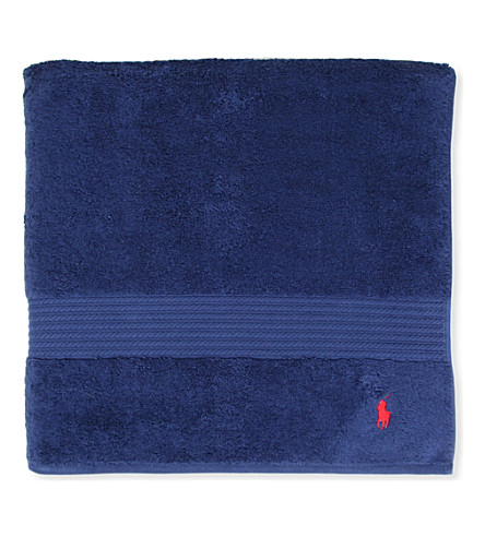 RALPH LAUREN HOME Player guest towel marine (Marine