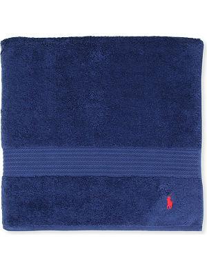 RALPH LAUREN HOME Player bath towel marine