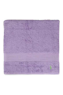 RALPH LAUREN HOME Player hand towel purple
