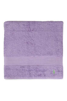 RALPH LAUREN HOME Player bath towel purple