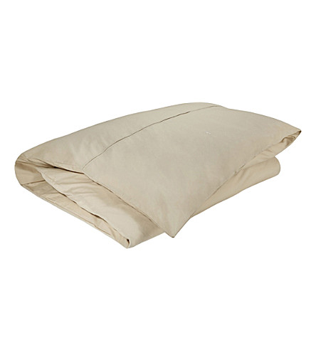 RALPH LAUREN HOME Player single duvet cover (Dune