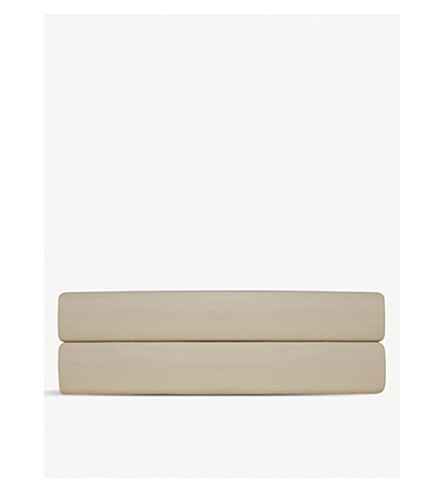 RALPH LAUREN HOME Player double flat sheet (Dune