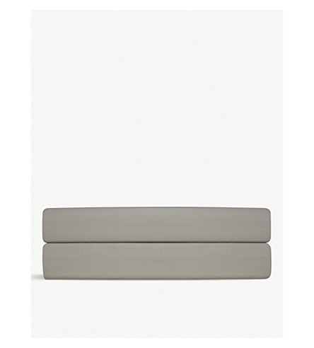 RALPH LAUREN HOME Player double flat sheet (Pebble