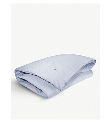 RALPH LAUREN HOME Oxford duvet cover (Blue