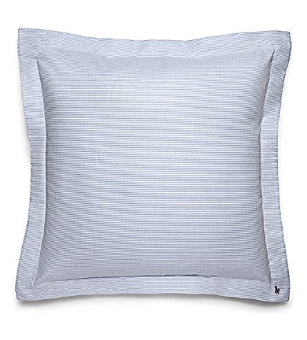 RALPH LAUREN HOME Oxford square pillow case (Blue