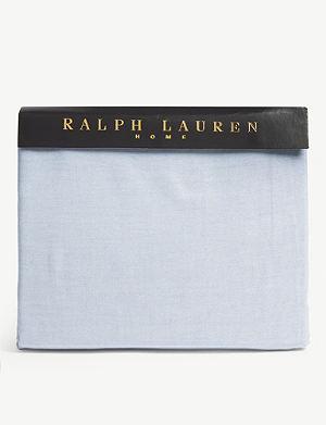 RALPH LAUREN HOME Oxford fitted sheet