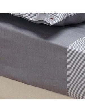 RALPH LAUREN HOME Oxford fitted sheet