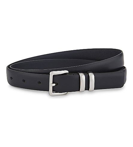 THE KOOPLES Classic leather belt (Nav03