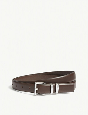 THE KOOPLES Classic leather belt