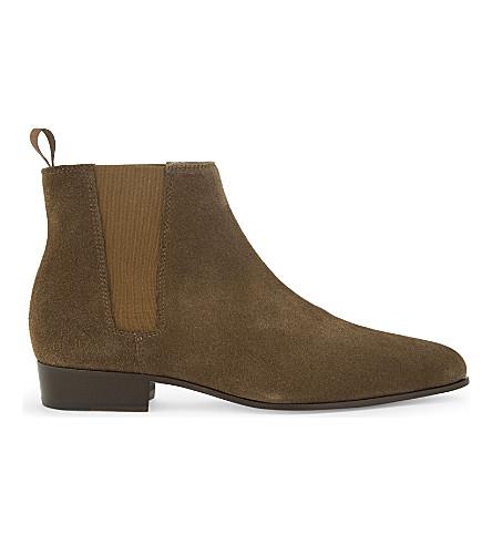 THE KOOPLES Suede Chelsea boots