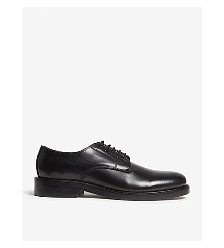 THE KOOPLES Leather derby shoes (Bla01