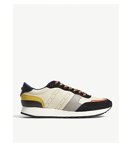 THE KOOPLES Leather running trainers (Mul04