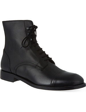 THE KOOPLES Smooth leather boots
