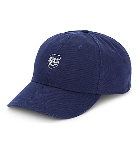 THE KOOPLES SPORT Logo cotton cap (Nav01
