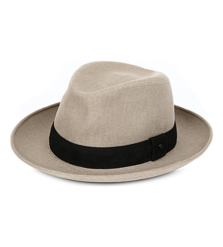 THE KOOPLES Canvas hat (Beige