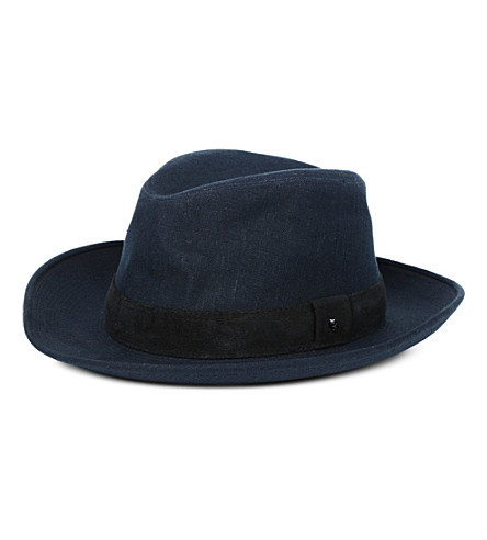 THE KOOPLES Canvas hat (Navy