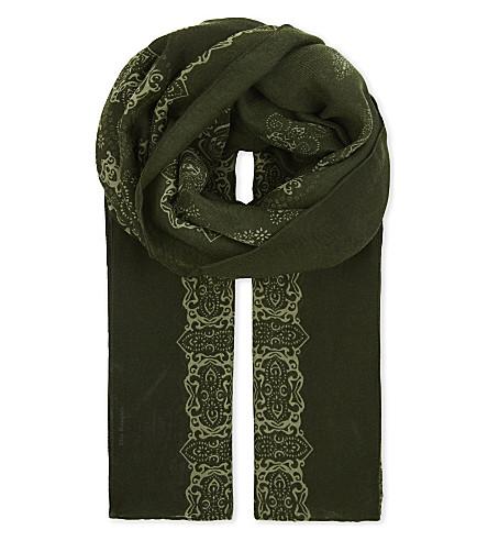 THE KOOPLES Skull print scarf (Kak14