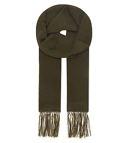THE KOOPLES Woven silk scarf (Kak01