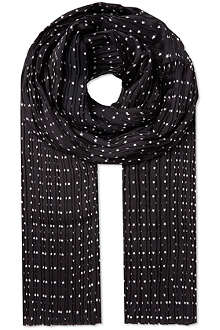 THE KOOPLES Microstars scarf
