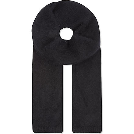 THE KOOPLES Angora scarf (Black