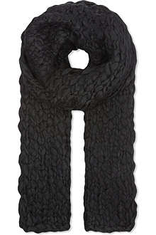 THE KOOPLES Coarse-knit scarf