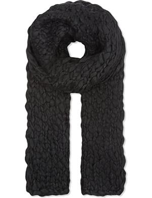 THE KOOPLES Coarse-knit scarf
