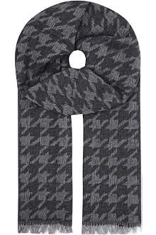 THE KOOPLES Dogstooth scarf