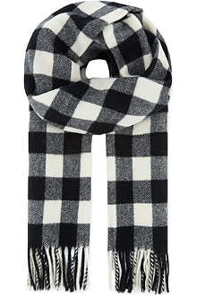 THE KOOPLES SPORT Wool jacquard scarf