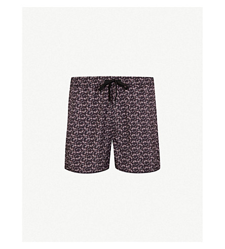 THE KOOPLES 骨印游泳短裤 (Bla01