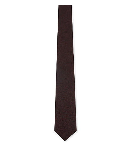 THE KOOPLES Spotted silk tie (Bur09
