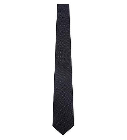 THE KOOPLES Pin dot silk tie (Nav01