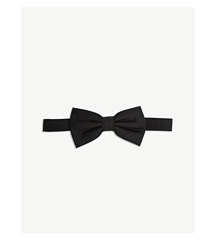 THE KOOPLES Woven silk bow tie (Bla01
