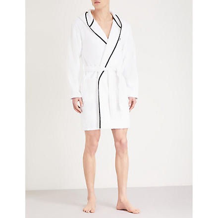 THE KOOPLES SPORT Embroidered bathrobe (White
