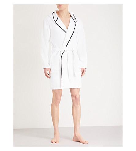 THE KOOPLES SPORT Embroidered bathrobe (White