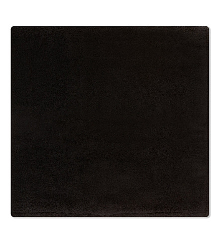 THE KOOPLES SPORT Embroidered bath towel (Black