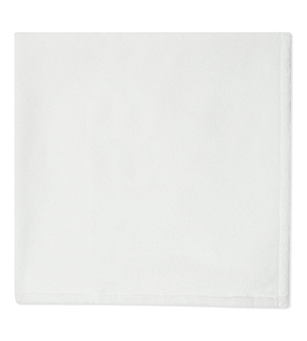 THE KOOPLES SPORT Embroidered bath towel (White
