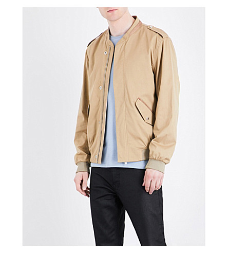 THE KOOPLES Officer-style woven bomber jacket (Bei01