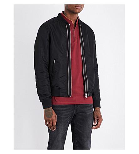 THE KOOPLES SPORT Exposed zip fastened bomber jacket (Bla01