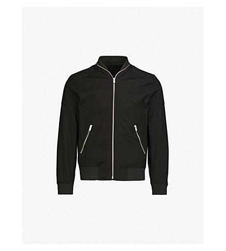 THE KOOPLES Shoulder patch stretch-cotton bomber jacket (Bla01