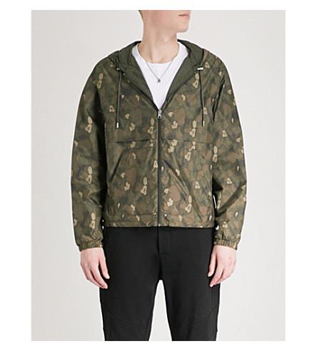 THE KOOPLES Reversible shell windbreaker jacket (Kak01
