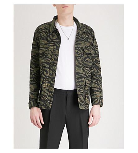 THE KOOPLES Camouflage-pattern cotton field jacket (Kak10