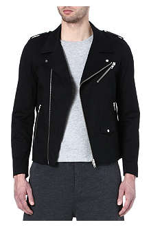 THE KOOPLES SPORT Canvas biker jacket
