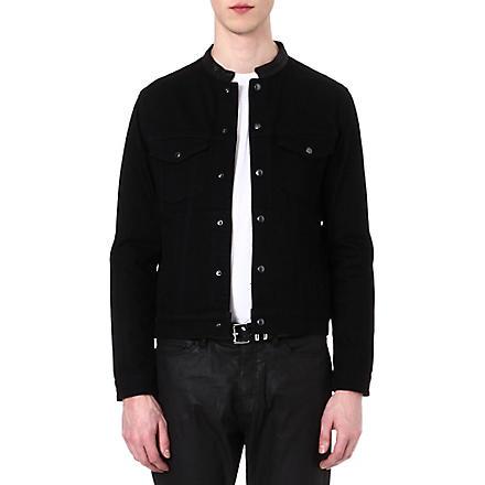 THE KOOPLES Denim jacket (Black